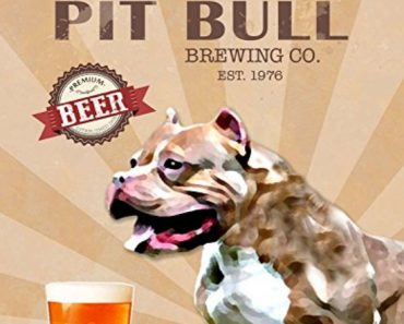 vintage pit bull in advertisement