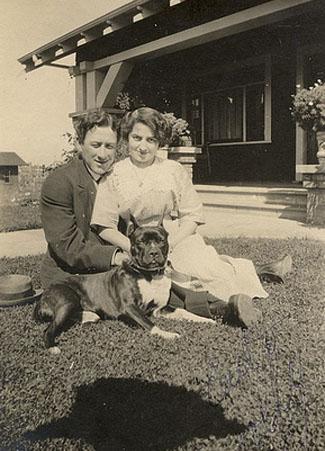 1903 pit bull family dog