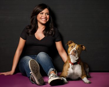 rachel ray and her pitbull