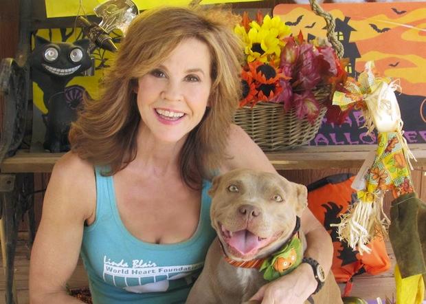 Linda Blair pit bulls